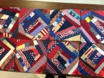 Crazy Quilt Blocks from Scraps